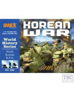 PKIM532 Imex 1:72 Scale Korean War NKA Troops