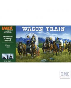 PKIM610 Imex 1:72 Scale Wagon Train