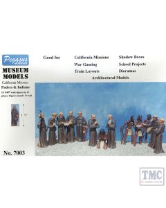 PKPG7003 Pegasus 1:48 Scale California Mission Padres and Indians (15)
