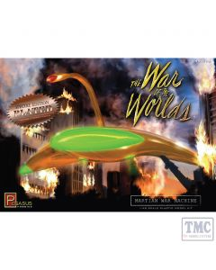 PKPG9201 Pegasus 1:72 Scale War of the Worlds Martian War Machine (plated kit)