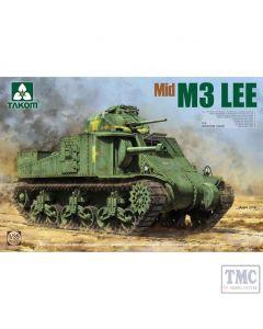 PKTAK02089 Takom 1:35 Scale M3 Lee US Medium Tank Mid