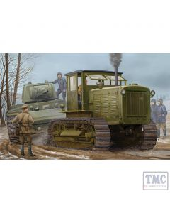 PKTM05539 Trumpeter 1:35 Scale Chelyabinsk ChTZ S-65 Russian Tractor with Cab