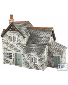 PO255 Metcalfe OO/HO Workers Cottages Card Kit