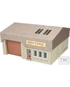 PO285 Metcalfe OO Gauge Industrial Unit Card Kit