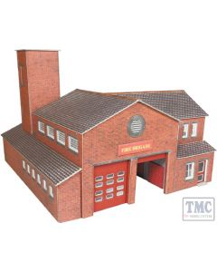 PO289 Metcalfe OO Gauge Fire Station Card Kit