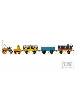 R3956 OO Gauge (1:76 Scale) L&MR, Stephenson's Rocket Royal Mail Train Pack - Era 1