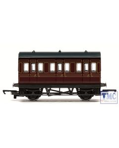 R4671 Hornby OO Gauge RailRoad LMS 4 Wheel Coach