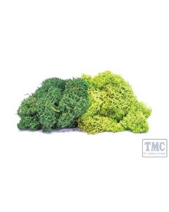 R7195 OO Scale Lichen - Large Green Mix