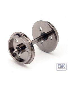R8097 Hornby OO Gauge Disc Wheels(3 Hole)/Axles (10 Sets)