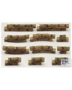 R8541 Skaledale OO Gauge Cotswold Wall Pack No 3