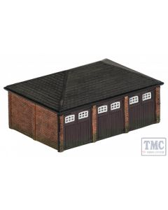 R9812 Hornby OO Gauge Triple Garage