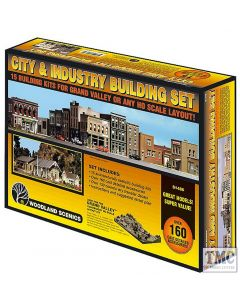 S1486 Woodland Scenics City & Industry OO Scale Buildng Set