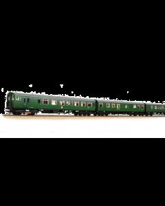 31-490 Bachmann OO Gauge Class 410 4-BEP 4-Car EMU BR (SR) Green (Small Yellow Panels)