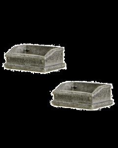 44-0510 Scenecraft OO Gauge Ballast Bins (x2)