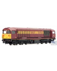 2D-058-004 Dapol N Gauge Class 58 047 EWS