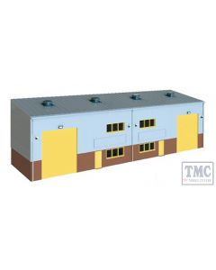 SSM300 OO Gauge Wills Industrial/Retail Unit Kit