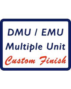 Sending Your O Gauge Multiple Units (DMU/EMS's) could not be easier