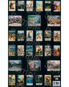TSOO77 Tiny Signs - OO Scale BR Travel Posters