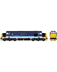 ACC2302D6702 Accurascale OO Gauge Class 37 - D6702 BR green with half yellow ends (mid 1960s) Split Headcode