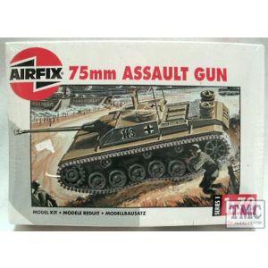 01306 Airfix 75mm Assault Gun 1:76 (Pre-owned - part built/no box)