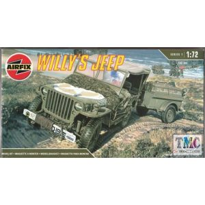 01322 Airfix Willy's Jeep 1:76 (Pre-owned)