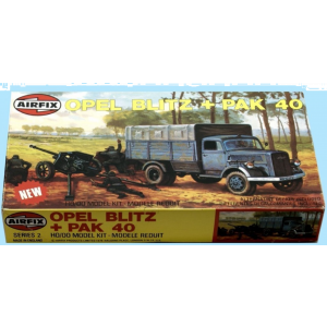 Airfix 1:76 Scale Kit Opel Blitz + Pay 40 (Pre owned)
