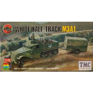 02318 Airfix White Half-Track M3A1 1:76 (Pre-owned)