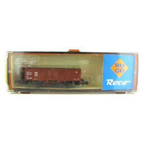 02338A Roco N Gauge Brown Wagon
