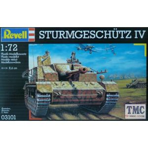 Revell 1:72 Sturmgeschütz IV Kit No 03101 (Pre owned)