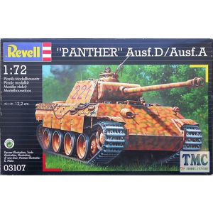 """Revell 1:72 """"Panther"""" Ausf.D / Ausf.AKit No 03133 (Pre owned)"""