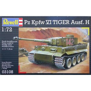 Revell 1:72 Pz Kpfw VI Tiger Ausf. H Kit No 03108 (Pre owned)