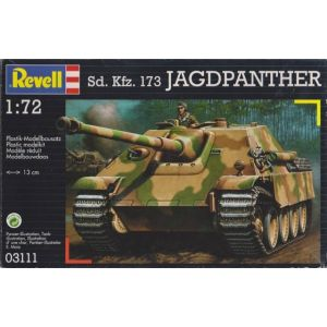 Revell 1:72 Sd. Kfz. 173 Jagdpanther Kit No 03111 (Pre owned)