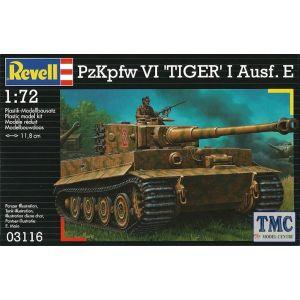 Revell 1:72 PzKpfw VI 'Tiger' I Ausf. E Kit No 03116 (Pre owned)