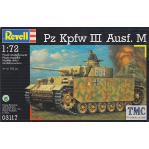 Revell 1:72 Pz Kpfw III Ausf. M Kit No 03117 (Pre owned)