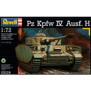 Revell 1:72 PzKpfw. IV Ausf. H Kit No 03119 (Pre owned)