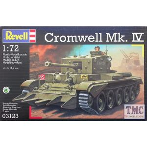 Revell 1:72 Cromwell Mk.IV Kit No 03123 (Pre owned)