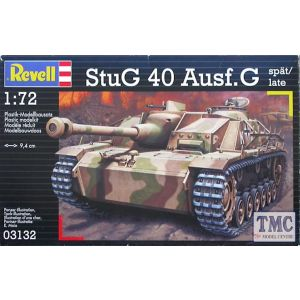 Revell 1:72 StuG 40 Ausf.G spät/late No 03132 (Pre owned)