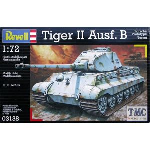 Revell 1:72 Tiger II Ausf. B Kit No 03138 (Pre owned)