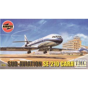 03177 Airfix Sud-Aviation SE-210 Caravelle 1:144 (Pre-owned)