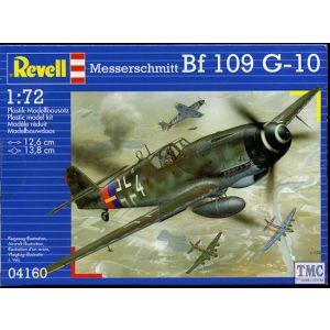 04160 Revell 1/72 Messerschmitt Bf 109G-10