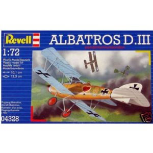 Revell 1:72 Albatros D. III Kit No 04328 (Pre owned)