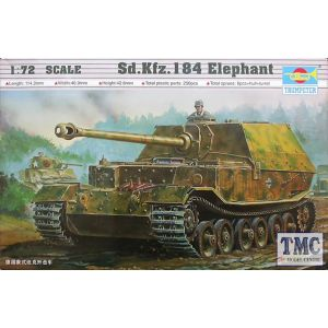 Trumpeter 1:72 Sd.Kfz. 184 Elephant No 07204 (Pre owned)
