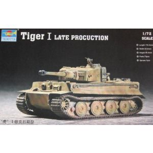 Trumpeter 1:72 Tiger I Late Production No 07244 (Pre owned)