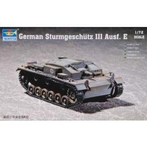 Trumpeter 1:72 German Sturmgeschutz III Ausf. E No 07258 (Pre owned)