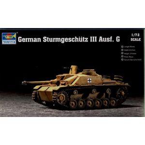 Trumpeter 1:72 German Sturmgeschütz III Ausf. G No 07260 (Pre owned)