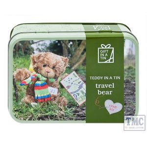Teddy Bear in a Tin Travel Bear
