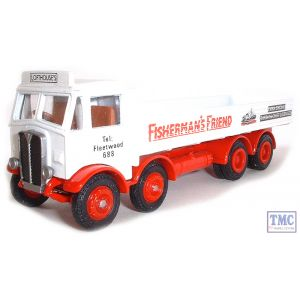 108001 Exclusive First Edition (EFE) AEC Mammoth Major 4 Axle Dropside Lorry Fishermans Friend