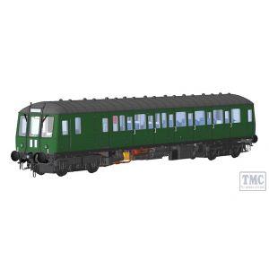 1220 Heljan O Gauge Class 122 BR green (speed whiskers)