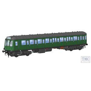1250 Heljan O Gauge Class 150 BR green (speed whiskers)