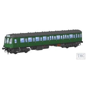 1251 Heljan O Gauge Class 150 BR green SYP